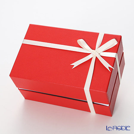 ギフトボックス 赤・タンブラー用 20×13×11cm 【リボン掛け付】