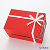 Wrapping 'Gift Box with Cross Ribbon' Red for Tumbler 1pc