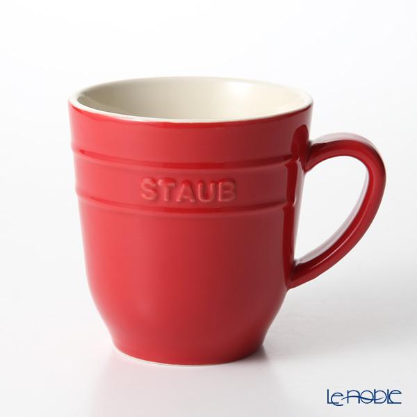 ストウブ(staub) マグカップ(セラミック製) 350ml チェリー