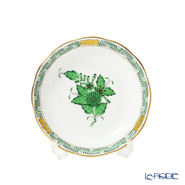 ヘレンド アポニーグリーン 00332-0-00 スモールディッシュ 10.5cm