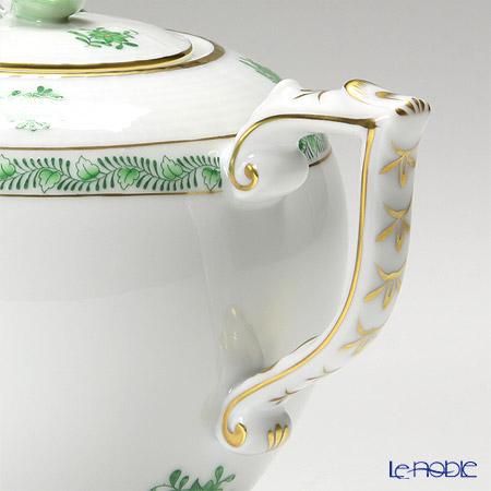 Herend 'Chinese Bouquet Green / Apponyi' AV 00606-0-09 Tea Pot (Rose knob) 800ml