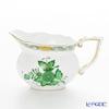 Herend 'Chinese Bouquet Green / Apponyi' AV 00643-0-00/643 Creamer 200ml