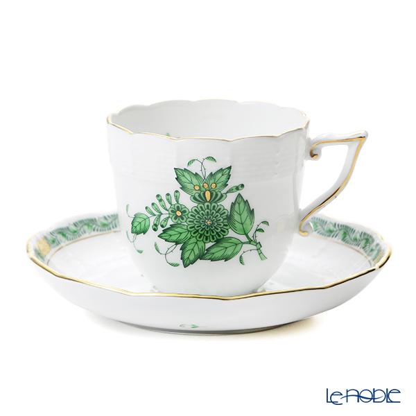ヘレンド アポニーグリーン 00706-0-00/706 コーヒーカップ&ソーサー 160cc