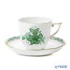 ヘレンド アポニーグリーン 00706-0-00/706コーヒーカップ&ソーサー 160cc
