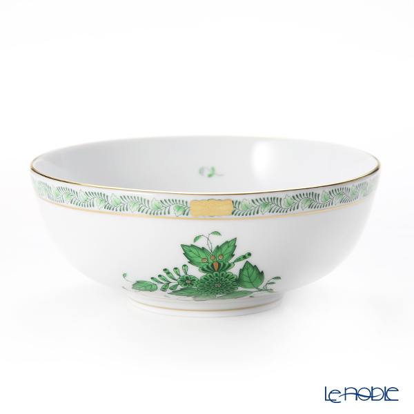 Herend 'Chinese Bouquet Green / Apponyi' AV 02360-0-00 Bowl 14.5cm