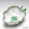 ヘレンド アポニーグリーン 02492-0-17オープンシュガー 10.5cm(蝶)