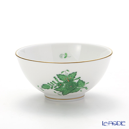 Herend 'Chinese Bouquet Green / Apponyi' AV 02781-0-00 Sake Cup