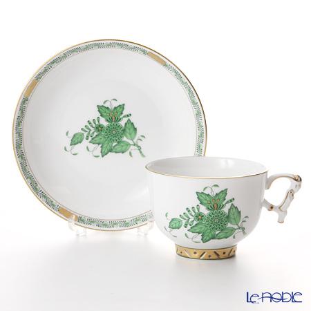 Herend A green AV 03364-0-21 Raja Cup & Saucer