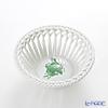 Herend 'Chinese Bouquet Green / Apponyi' AV 07371-0-00 Round Basket Bowl (openwork) 13cm