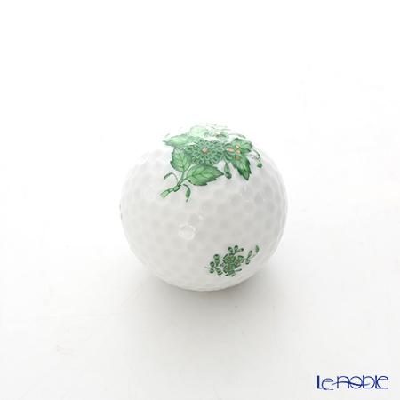 ヘレンド アポニーグリーン 07803-0-00 ゴルフボール型オブジェ