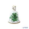 Herend 'Chinese Bouquet Green / Apponyi' AV 08018-0-19 Bell H5.5cm