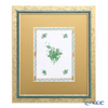 Herend 'Chinese Bouquet Green / Apponyi' AV 08122-0-91 Panel / Plaque 30x34.5cm