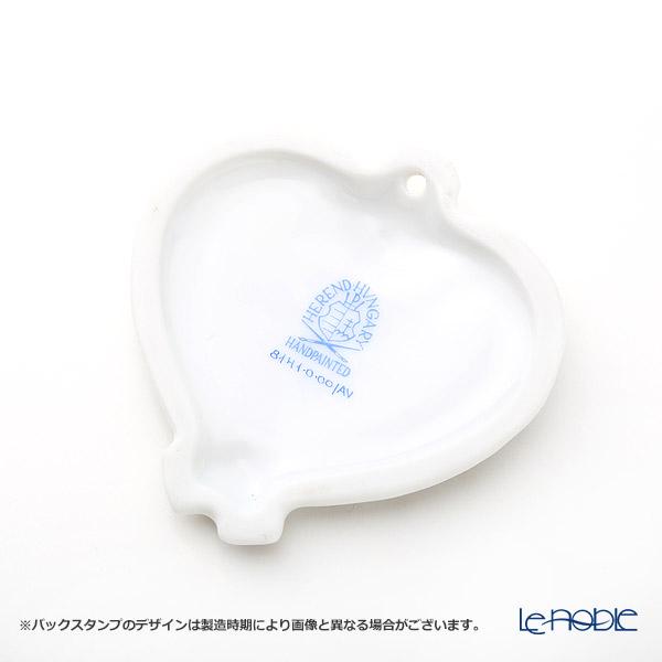 Herend 'Chinese Bouquet Green / Apponyi' AV 08141-0-00 Heart Pendant Top 6cm
