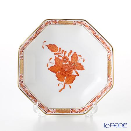 ヘレンド アポニーオレンジ 04307-1-00 小皿(オクタゴナル) 11cm