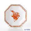 Herend A Orange 04307-1-00 Small plate (octagonal)-11 cm