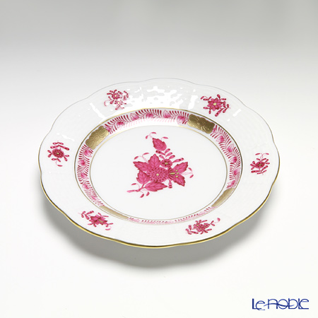 Herend Chinese Bouquet Pink / Apponyi Purple AP 00512-0-00 Bread & Butter Plate 12.5cm