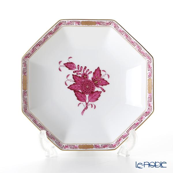 ヘレンド アポニーピンク 04304-1-00 小皿(オクタゴナル) 13.5cm