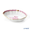Herend Chinese Bouquet Pink / Apponyi Purple AP 07740-0-00 Oval Dish 14.5x12cm