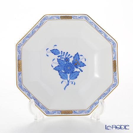 ヘレンド アポニーブルー 04304-1-00 小皿(オクタゴナル) 13.5cm