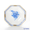 Herend A blue AB 04307-0-00 Small plate (octagonal)