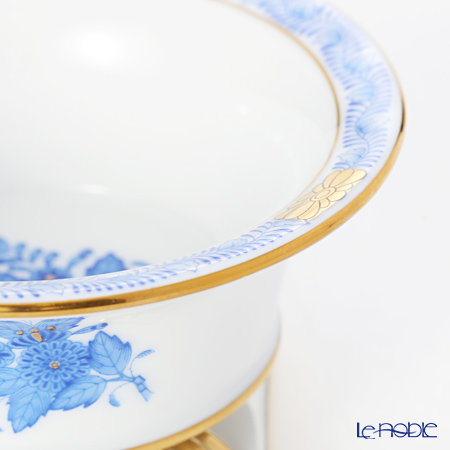 Herend 'Chinese Bouquet Blue / Apponyi' AB 06413-0-00/6493 Pedestal Vase H6cm