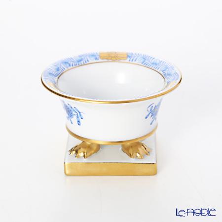 Herend 'Chinese Bouquet Blue / Apponyi' AB 06414-0-00/6494 Pedestal Vase H4.5cm