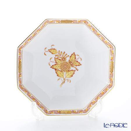 ヘレンド アポニーイエロー 04304-1-00小皿(オクタゴナル) 13.5cm