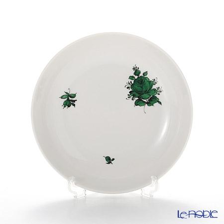 アウガルテン(AUGARTEN) マリアテレジア シンプル(SA598) グリーン ラウンドディッシュ 12.5cm(069)