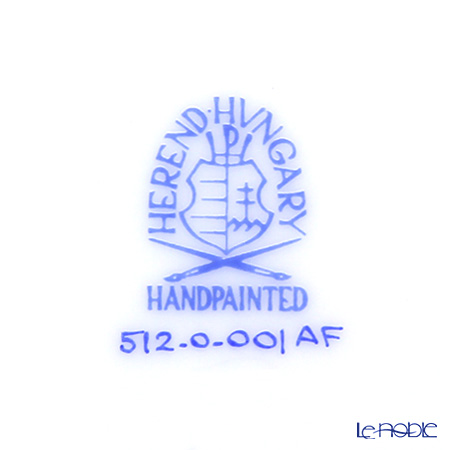 ヘレンド アポニーフラワー 00512-0-00プレート 12.5cm