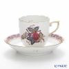 Herend aponyflower AF 00709-0-00 Mocha Cup & Saucer