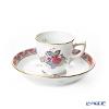 Herend Chinese Bouquet Multi-Color / Apponyi Fleur AF 00729-0-00 Mocha Cup & Saucer 50ml