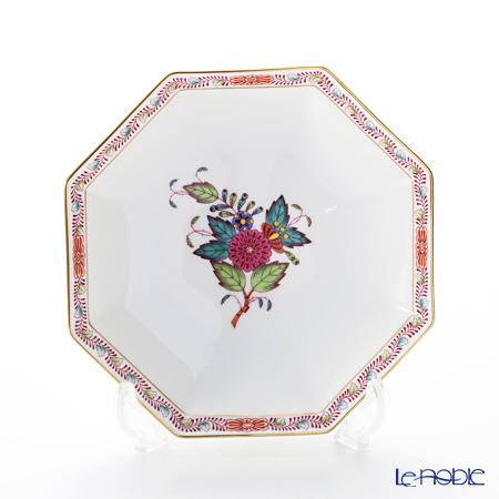 ヘレンド アポニーフラワー 04304-1-00小皿(オクタゴナル) 13.5cm