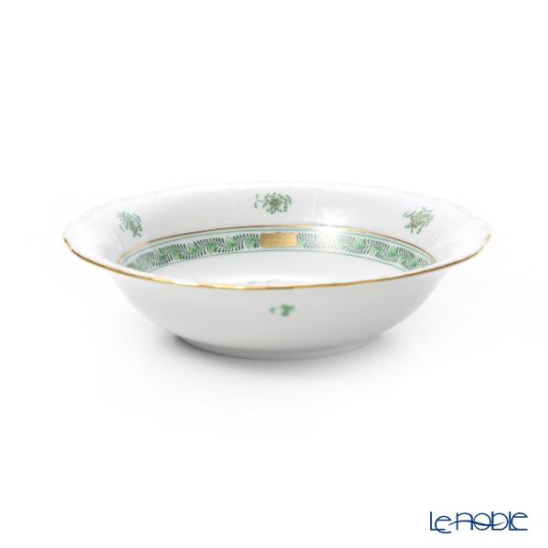 Herend 'Indian Basket Green / Fleurs des Indes' FV 00330-0-00 Oatmeal Bowl 16.5cm