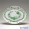 ヘレンド インドの華グリーン 00400-0-00/400パーティートレイ 38cm