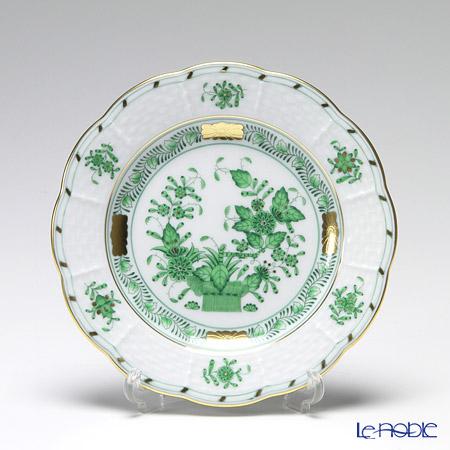 ヘレンド インドの華グリーン 00512-0-00 プレート 12.5cm スモール