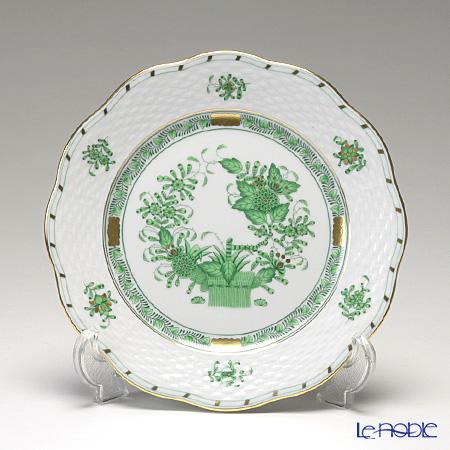 ヘレンド インドの華グリーン 00517-0-00/517 プレート 19cm