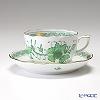 ヘレンド インドの華グリーン 00724-0-00/724ティーカップ&ソーサー 200cc