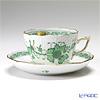 ヘレンド インドの華グリーン 00730-0-00/730ティーカップ&ソーサー(兼用) 200cc