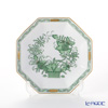 Herend India China Green FV 04304-1-00 Small plate (octagonal) 13.5 cm