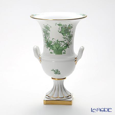 ヘレンド インドの華グリーン 06431-0-00/6431 ベース 24cm