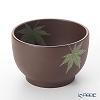 Wedgwood Brown Jasperware Autumn Leaves (Green) Bowl 10cm