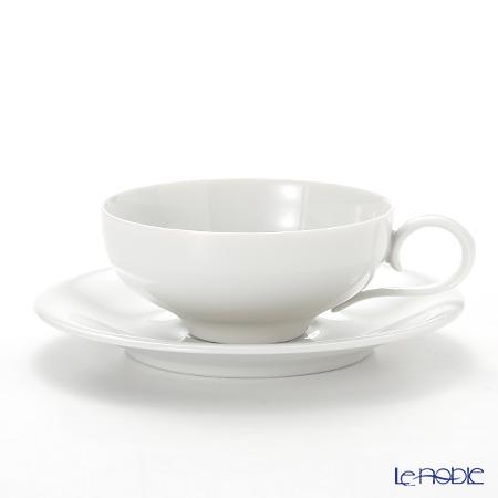 アウガルテン(AUGARTEN) エナホワイト(1000) ティーカップ&ソーサー 0.20L(021)