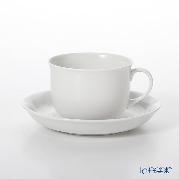 アウガルテン(AUGARTEN) シューベルトホワイト(1000) コーヒーカップ&ソーサー 0.15L(056)