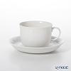 Augarten 'White' [Schubert shape] Coffee Cup & Saucer 200ml