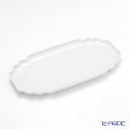 アウガルテン(AUGARTEN) ホワイト(1000) サンドイッチトレイ 25×14cm(746)