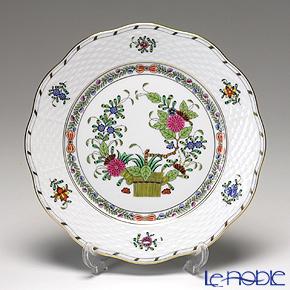ヘレンド インドの華多彩色 00517-0-00/517プレート 19cm