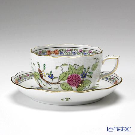 ヘレンド インドの華多彩色 00724-0-00/724 ティーカップ&ソーサー 200cc