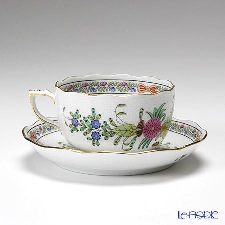 ヘレンド インドの華多彩色 00724-0-00/724ティーカップ&ソーサー 200cc