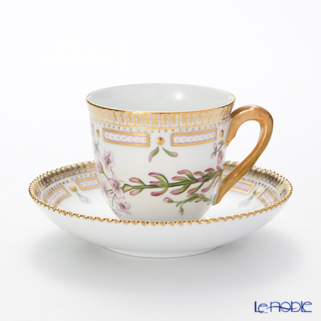 ロイヤルコペンハーゲン(Royal Copenhagen) フローラダニカコーヒーカップ&ソーサー 170ml 1147071H
