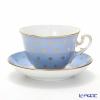 Richard Ginori Gigli Indigo Tea Cup & Saucer 270 cc Museo shap